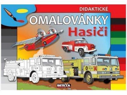 be350 omalovanky hasici