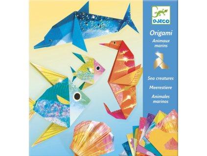 DJ08755 djeco origami metalicke pod vodou