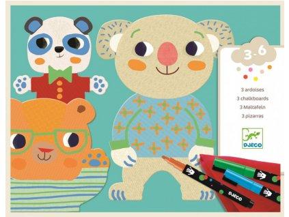 DJ08992 djeco smyvatelne malovani medvidci