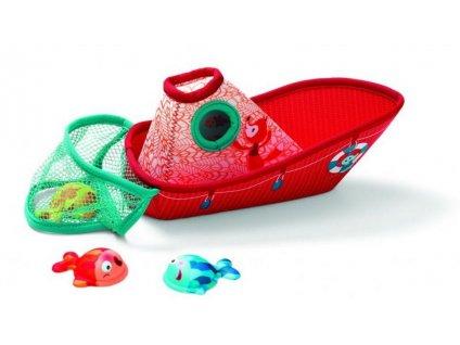 Lilli 86773 hracky do vody rybarska lod