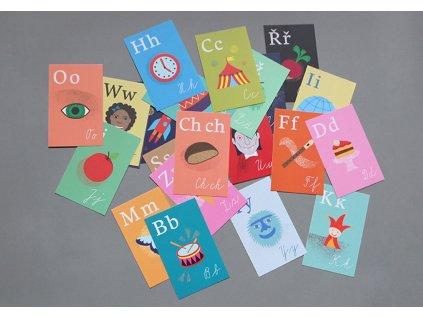 poketo abeceda pismena karticky pro deti 1