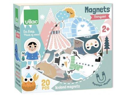V8547 vilac drevene magnetky iceland