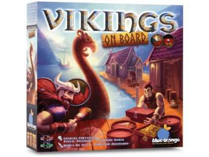 vikings on board deskova hra
