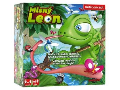 mlsny leon hra pro deti chameleon