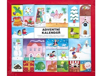 9788075581068 adventni kalendar 24 leporel