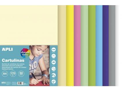 A15116 apli barevne papiry pastelove