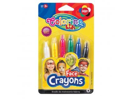 R32629PTR colorino barvy na oblicej 6 barev