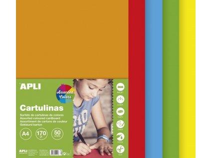 A15117 apli barevne papiry pestre