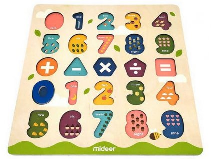 MD2048 mideer vkladaci puzzle cisla