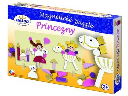 14579 detoa magneticke puzzle princezny