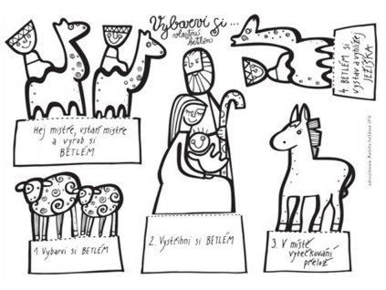 kreslikarna betlem stojan