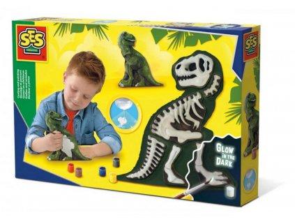 107814206ses sadrovy dinosaur svitici