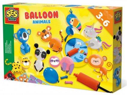 107814649 ses zviratka z balonku