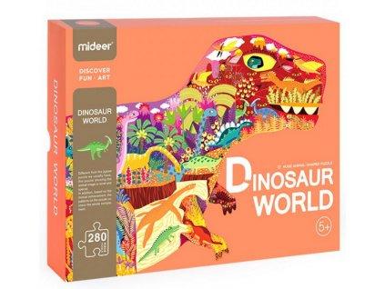 MD3083 mideer puzzle svet dinosauru