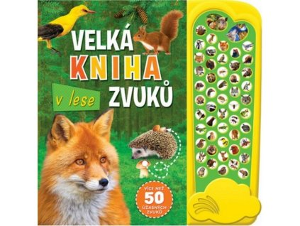 9788025619261 velka kniha zvuku v lese