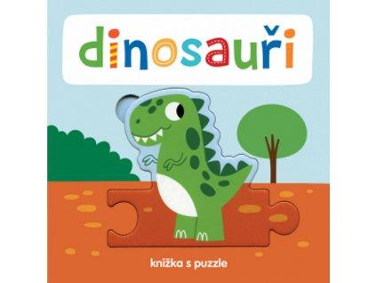 9788025627822 knizka s puzzle dinosauri