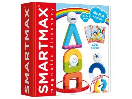 SMX227 smartmax moji prvni akrobati magneticka stavebnice