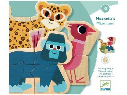 DJ03126 djeco magnety mixanimo zviratkove puzzle