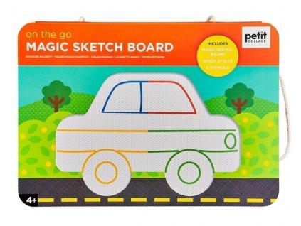 PTC479 magneticka tabulka petitcollage auta