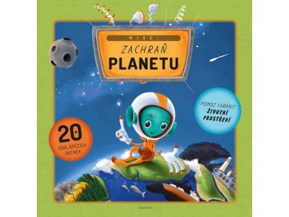 9788000050256 kniha Mise Zachran planetu