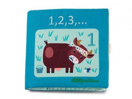LILLI 83274 lilliputiens Textilni didakticka knizka 123 pocitani
