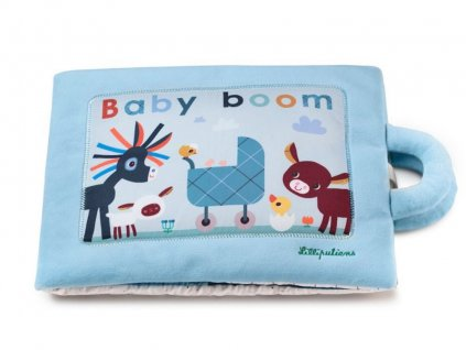 LILLI 83275 lilliputiens Textilni didakticka knizka Baby boom