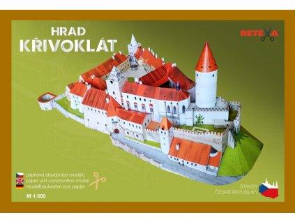 be314 vystrihovanky modely hrad krivoklat