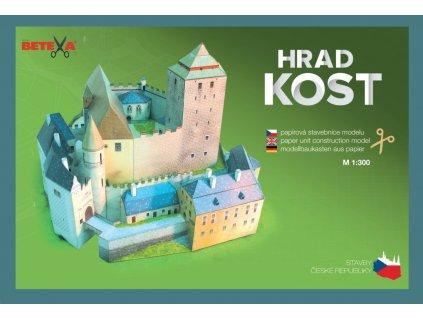 be304 vystrihovanky modely hrad kost