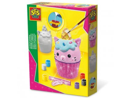 01287 ses sadrovy odlitek cupcake