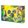 SES | Odlévání a malování Dinosauři ze sádry