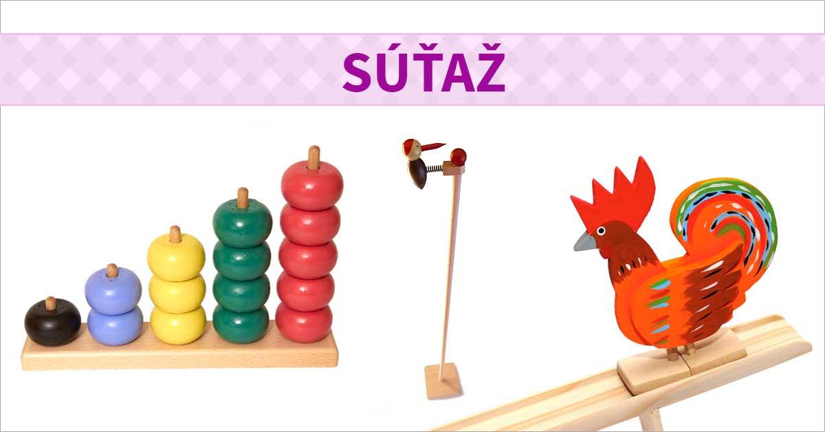 Súťaž o originálne drevené hračky