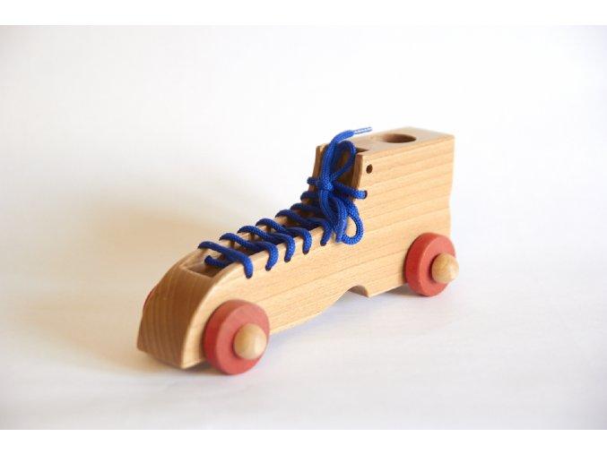 Šnurovacia topánka modrá
