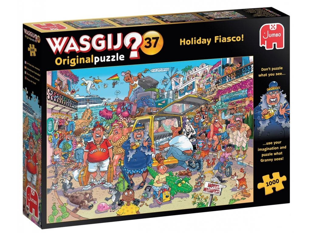 Holiday Fiasco Wasgij Original Puzzle 1000 d.