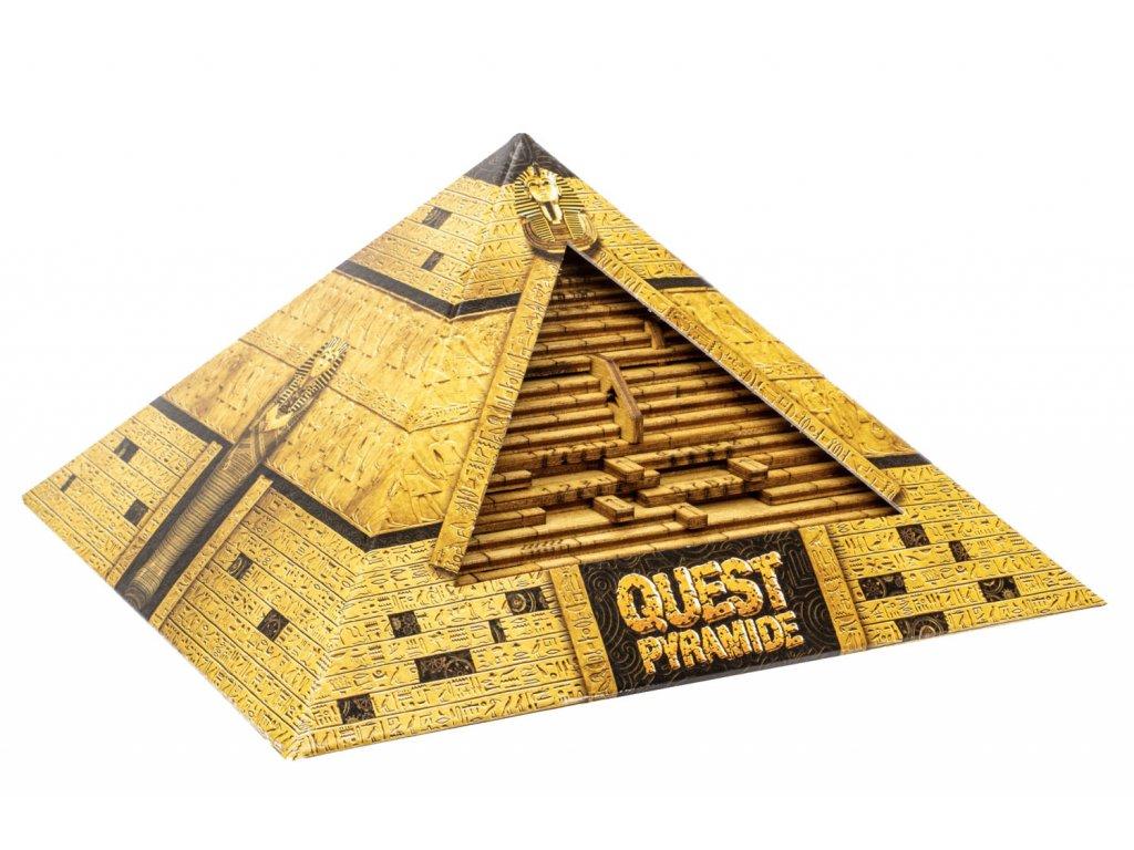 Quest Pyramide - puzzle box