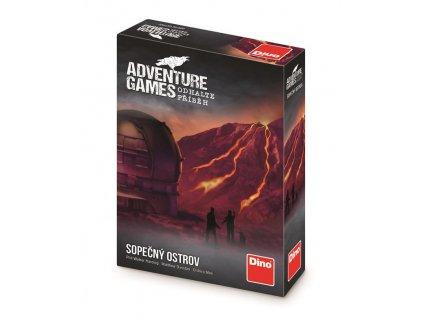 Adventure games: Sopečný ostrov