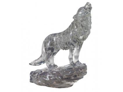 3D Crystal Puzzle Vlk