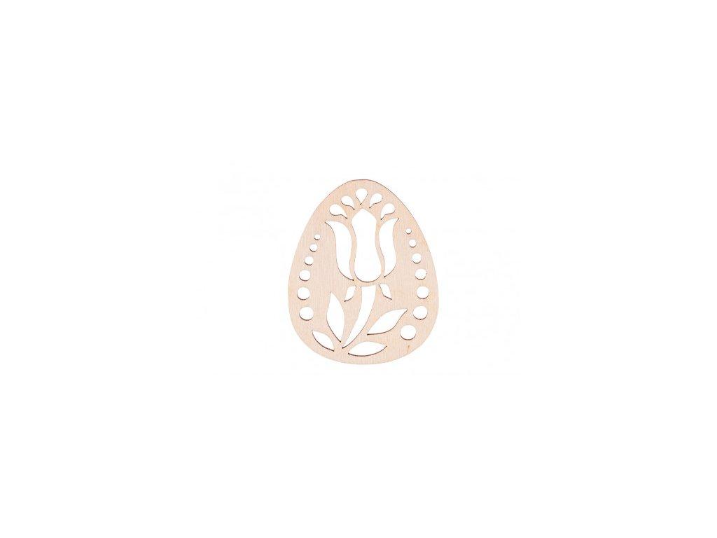 drevene zdobene vajicko v 10 x 8 cm 462x388
