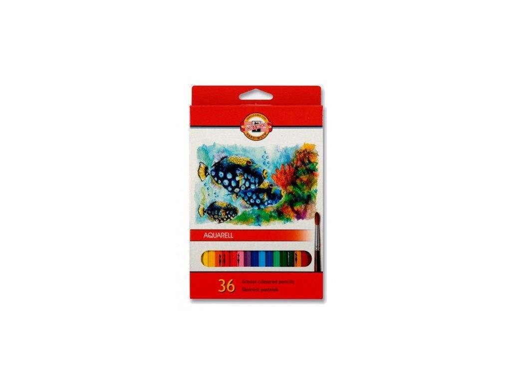 akvarelove pastelky 36 kohinoor