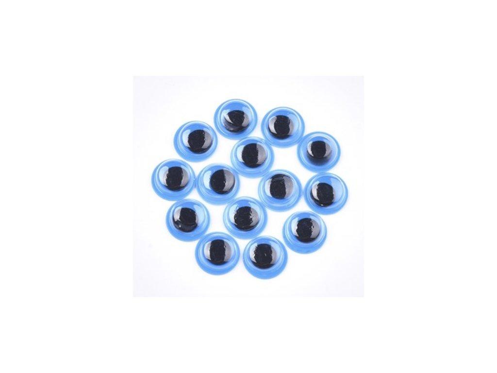 samolepici oci modre