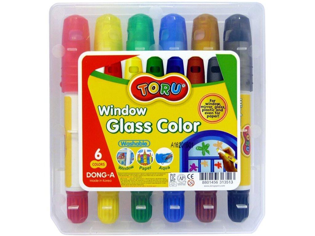 barvy na sklo