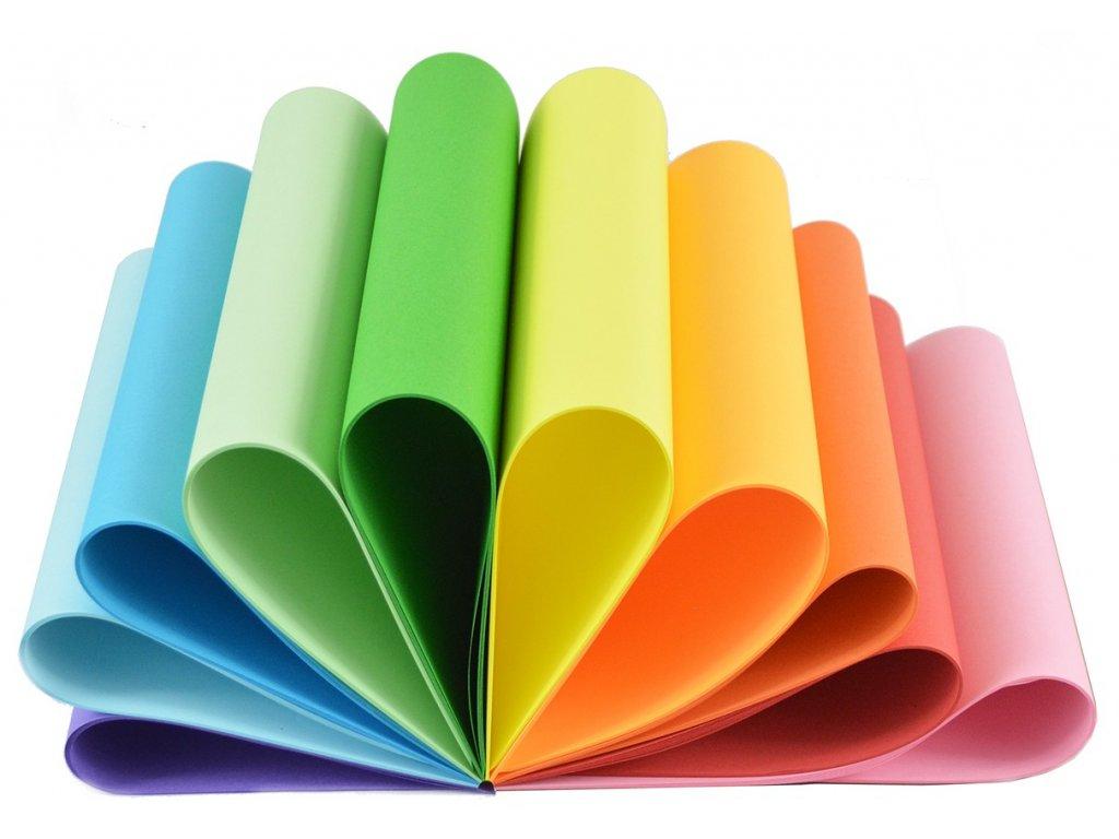 barevne papiry 100 ks