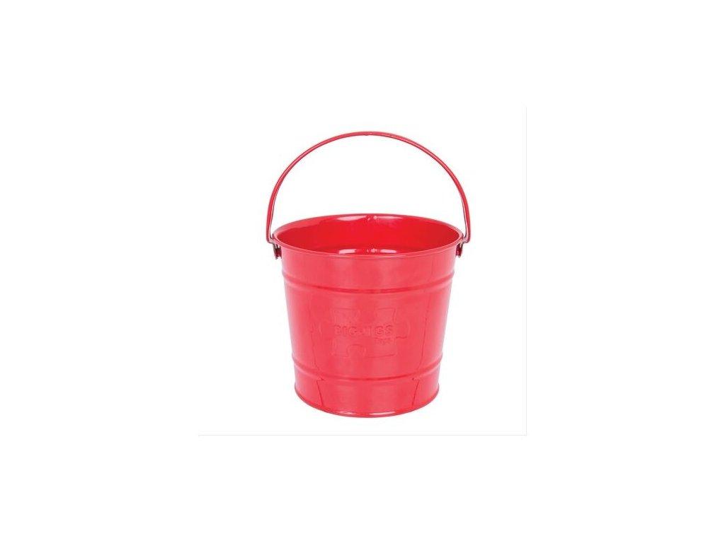 bigjigs toys kyblicek cerveny