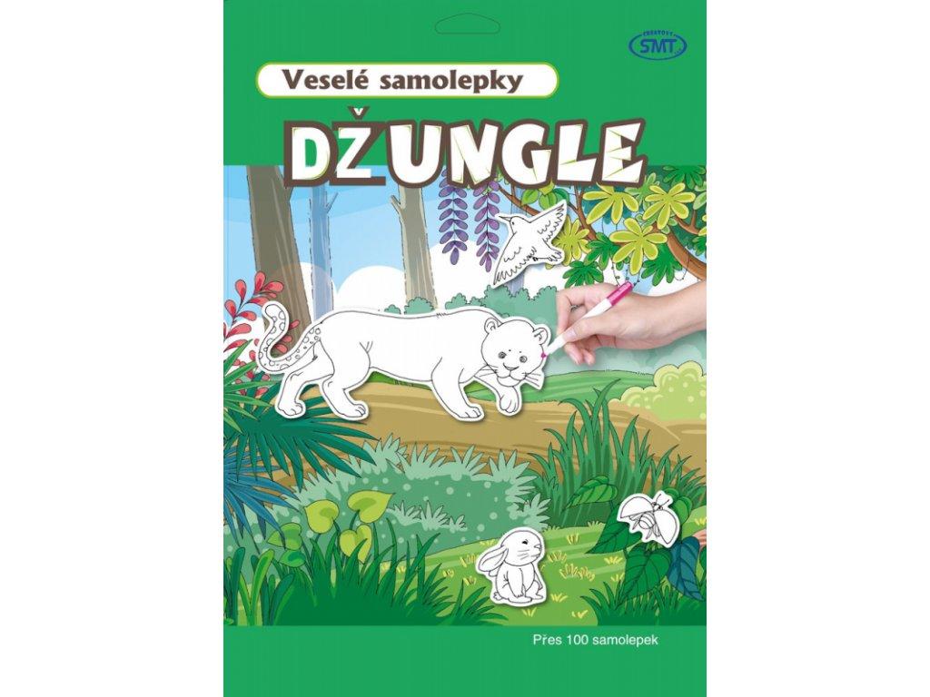 vesele samolepky jungle