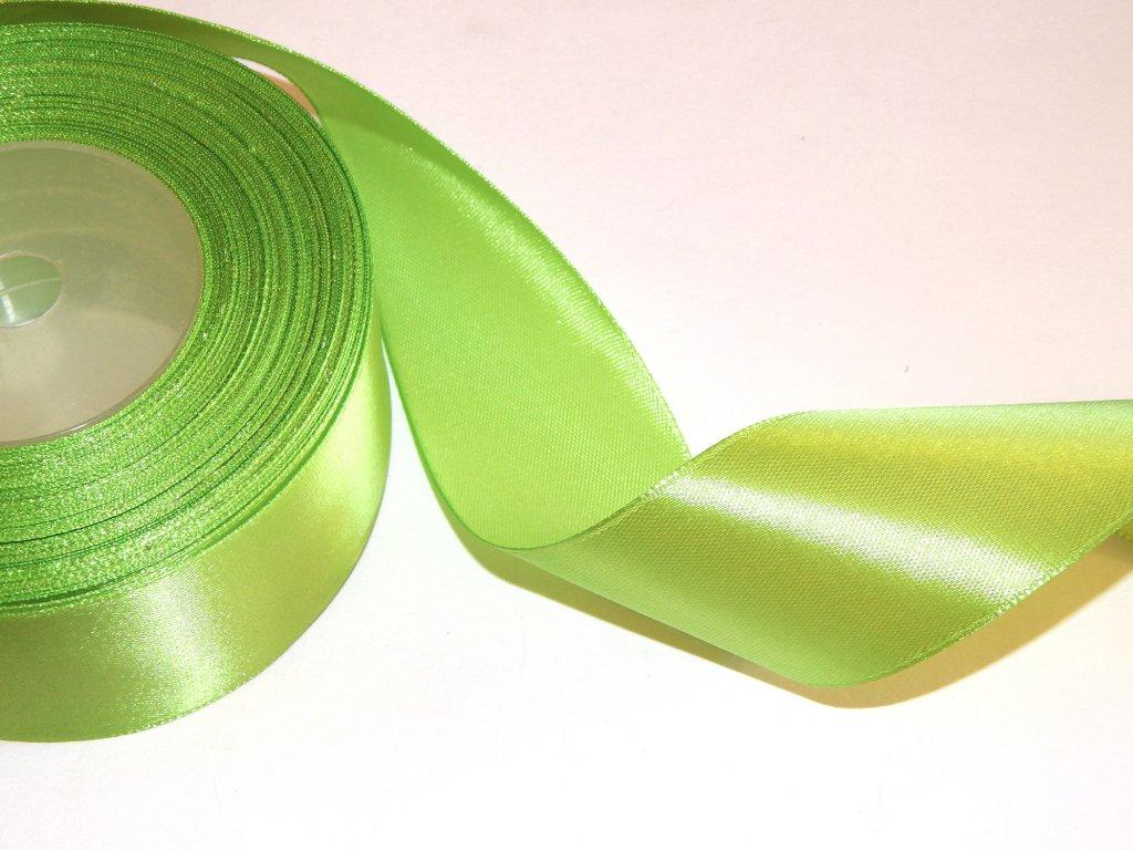 stuha zelena jednolici