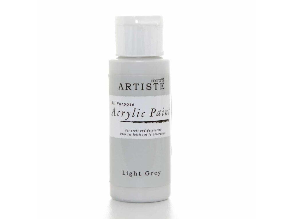 akrylova barva light grey