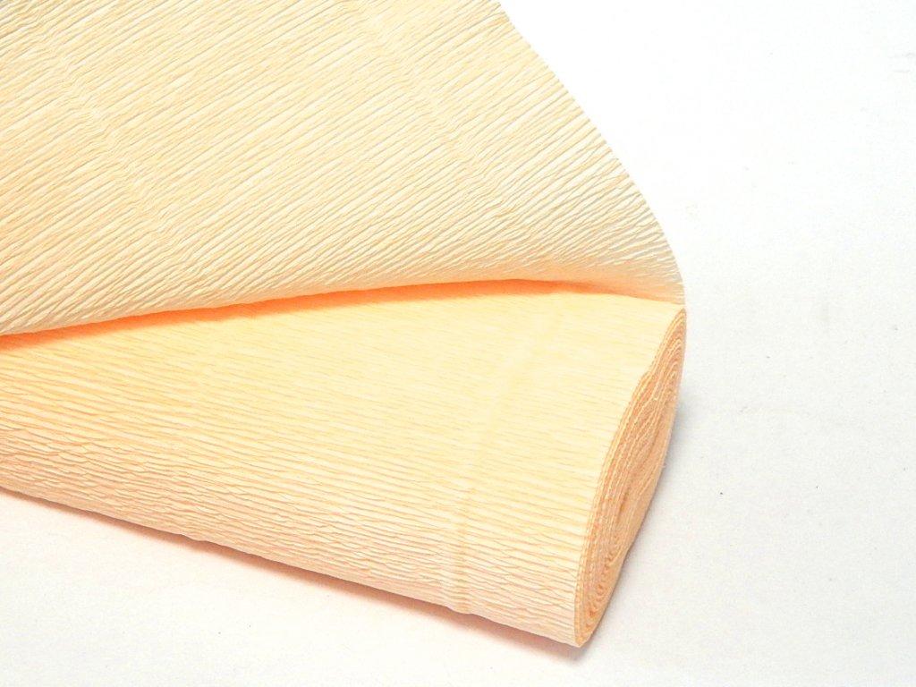 krepovy papir bezovy
