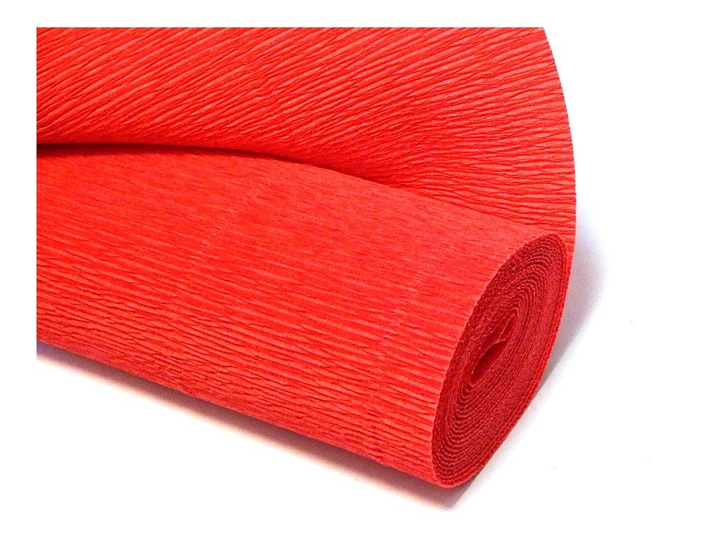 krepovy papir cerveny