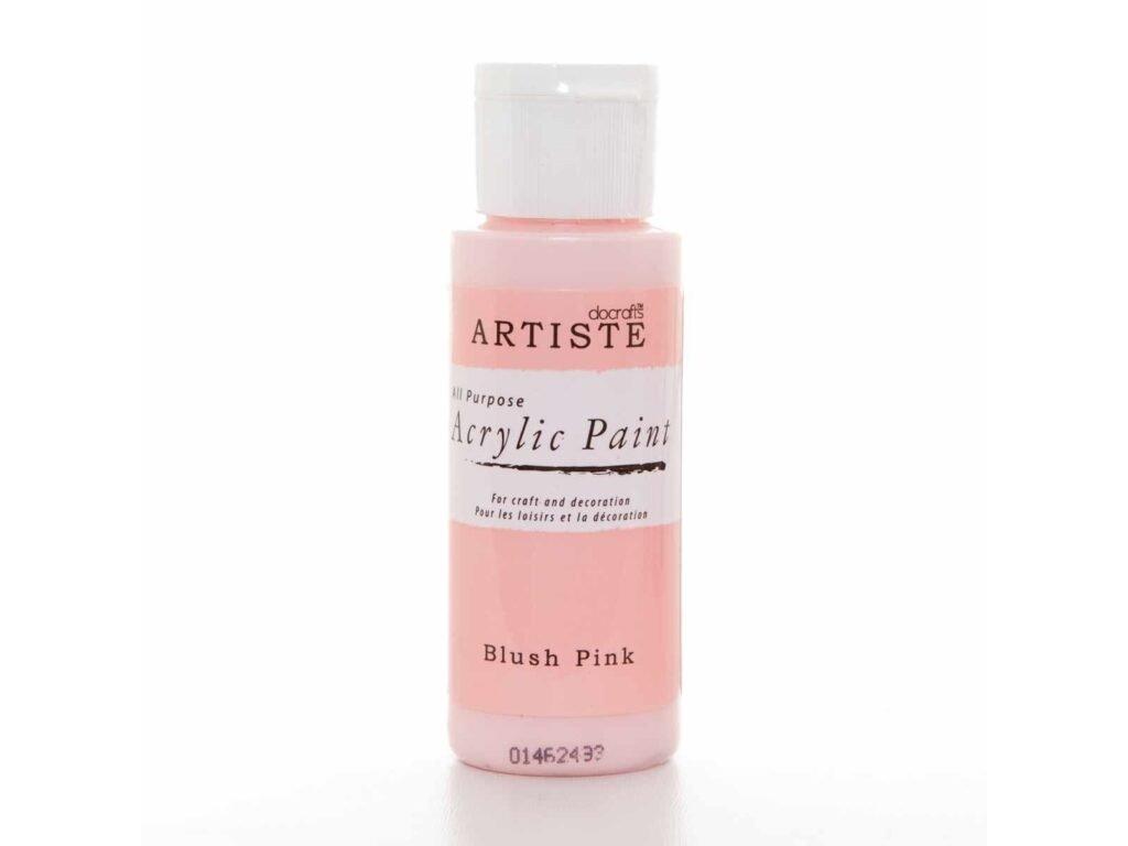akrylova barva blush pink