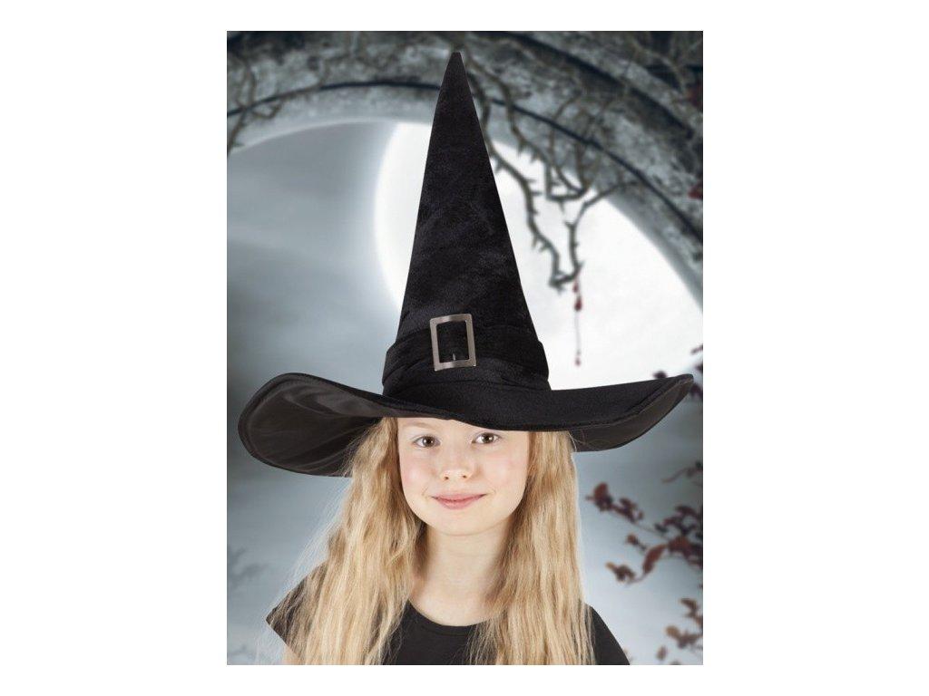 carodejnice klobouk halloween detsky