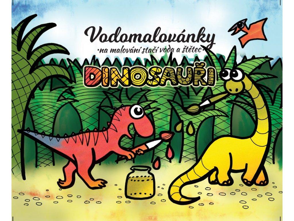 Vodomalov†nky Dinosaużi ob†lka